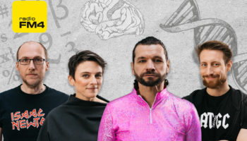 Florian Freistetter, Elisabeth Oberzaucher, Martin Puntigam, Martin Moder
